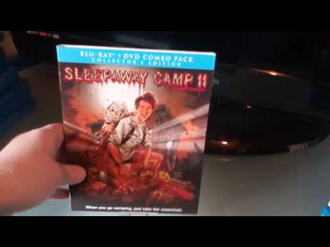 Some of my Slasher movie collection on blu ray & Dvd streaming vf
