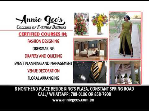 Annie Gees College Of Fashion Designing Youtube