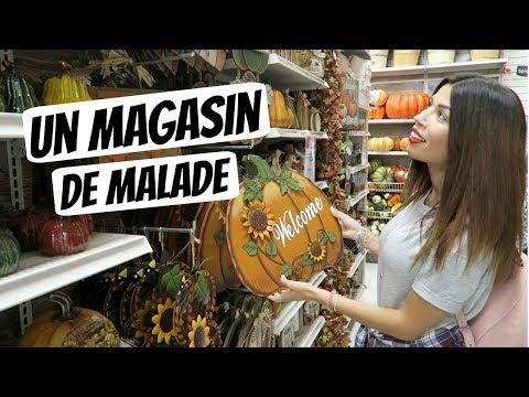 UN MAGASIN DE MALADE !
