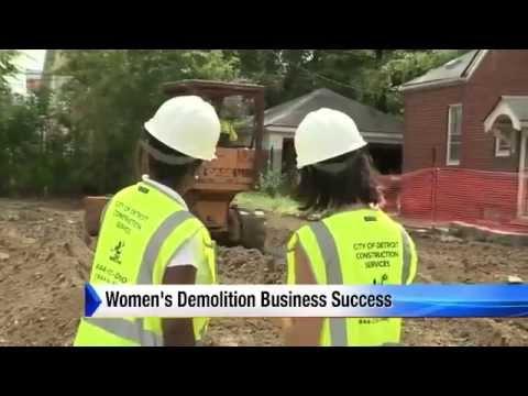 Women start demolition business News   Home