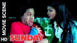 Mano Ya Na Mano | Irrfan Khan, Ayesha Takia, Arshad Warsi | Sunday | Movie Scene | Comedy