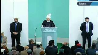 (English) Friday Sermon 28th January 2011 - Islam Ahmadiyya_clip0.flv