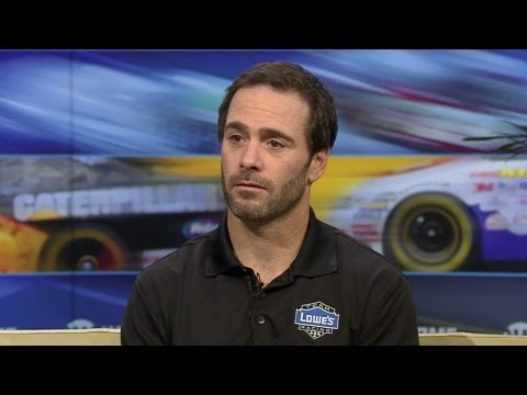 Inside NASCAR - Jimmie Johnson Interview - SHOWTIME