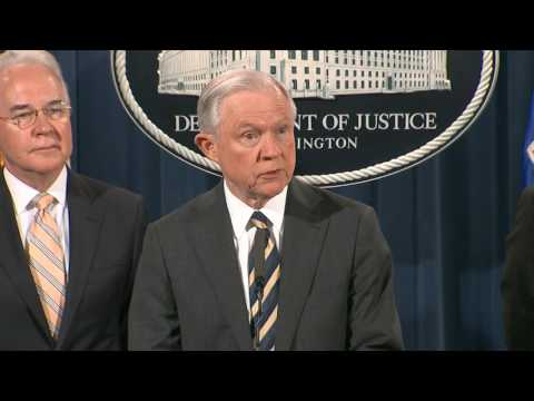 Sessions announces charges against 412 people, the largest takedown in U.S. history