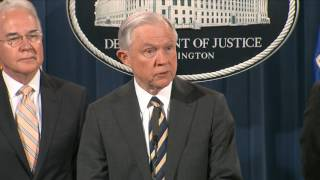 Sessions announces charges against 412 people, the largest takedown in U.S. history Free HD Video