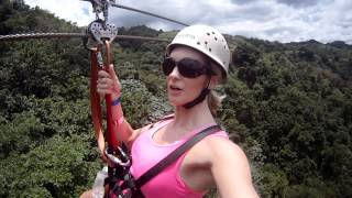 Zip Line Fail - Didn