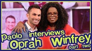 Part 2: Oprah Winfrey Last Interview at Harpo!