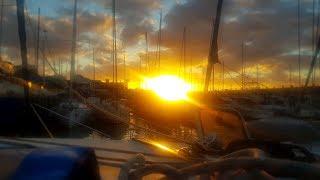 Эпизод 1. Переход через Атлантический океан на парусном катамаране Mahanga.