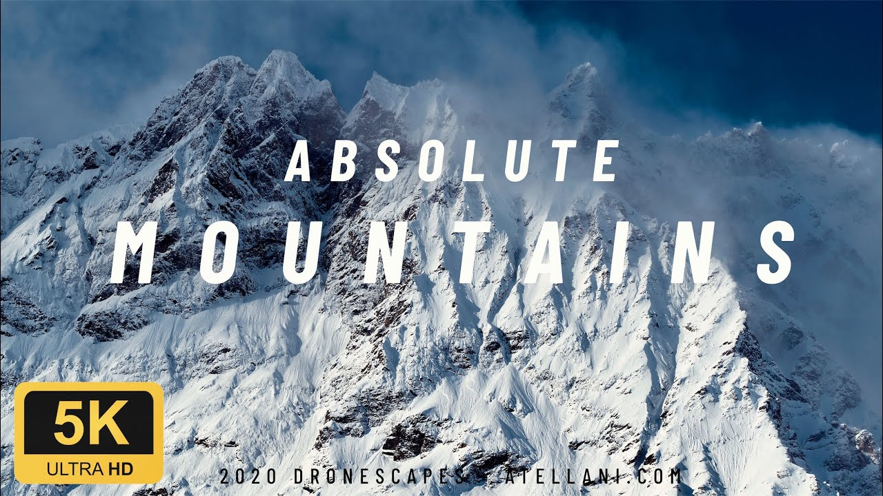 Download Absolute Mountains | Nature Videos in 5K | Ultra HD Drone Video 60FPS