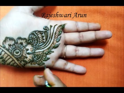 Beautiful Simple Easy Henna Mehndi Designs For Hands For Beginners