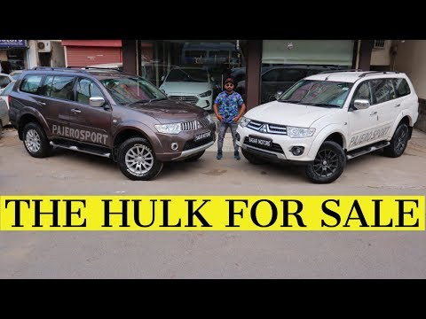 2 Mitsubishi Pajero Sport For Sale | Prowned SUV Cars In India | My Country My Ride