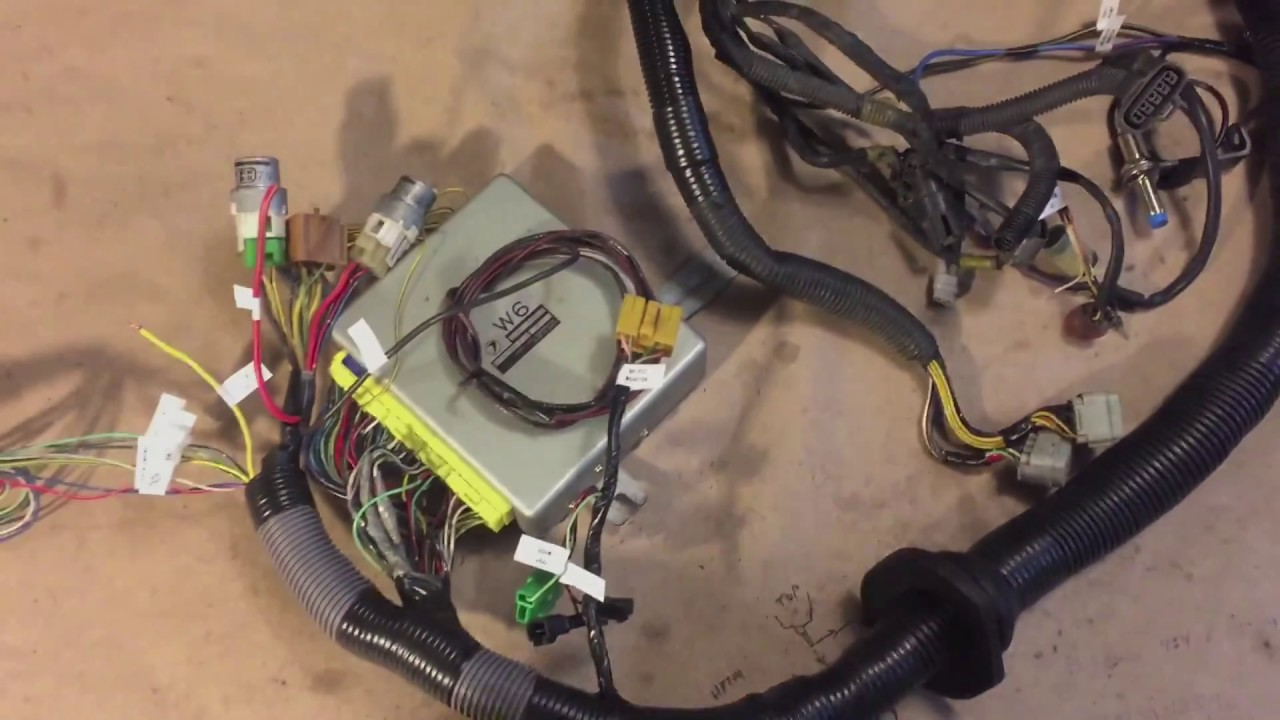 maxresdefault 1995 2000 jdm subaru vw harness conversion youtube Engine Wiring Harness Replacement at n-0.co