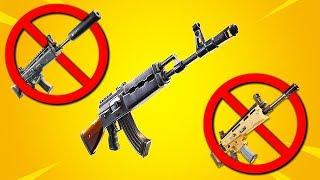 RIP Scar... the NEW BEST Gun in Fortnite... (PATCH UPDATE)