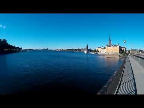 Stockholm Skyline at Noon