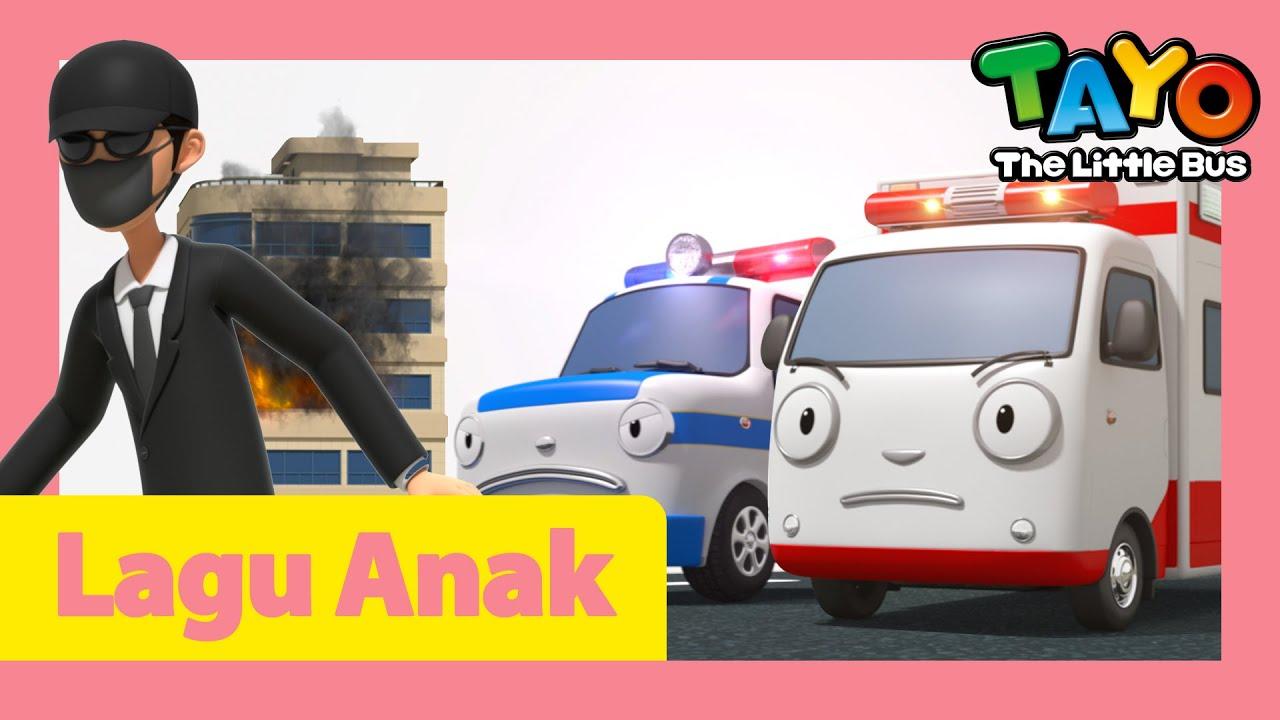 Tayo Lagu Pembukaan Tim penyelamat & mobil pemberani l Lagu untuk anak-anak l Hey Tayo l Tayo Bus