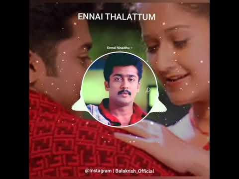 Ennai Thalaatum Bgm | Unnai Ninaithu | Surya | @Instagram | Balakrish_Official | FB Balakrish BGM