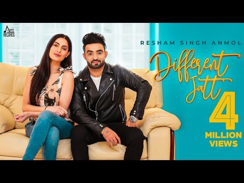 RESHAM Singh ANMOL - Different Jatt - New Punjabi Songs 2019 - Full Video- Latest Punjabi Songs 2019