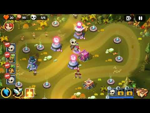 Hero Defense King - Stage 5 - Normal 3 Gems  
