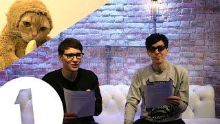 BANANAMONKEYCAT?! Dan & Phil's Internet News