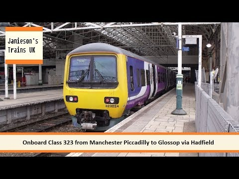 Onboard Class 323 from Manchester Piccadilly to Glossop via Hadfield