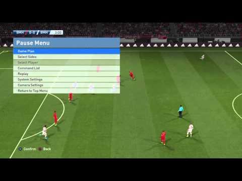 Pro Evolution Soccer 2016  Controller Setting