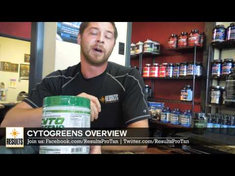 Overview of CytoGreens superfood supplement for athletes