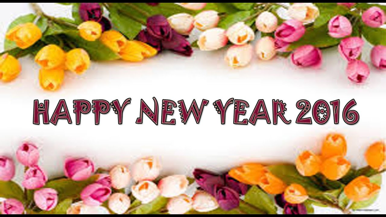 Happy New Year 2016 - Beautiful Wishes/New Year greetings/Whatsapp ...