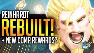 Overwatch News - Reinhardt UPGRADES! Earthshatter FIX! New Comp Rewards Soon!?