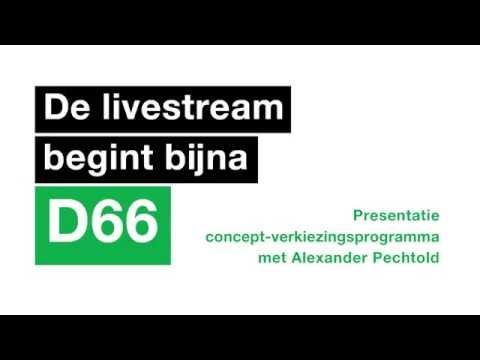 D66 Livestream