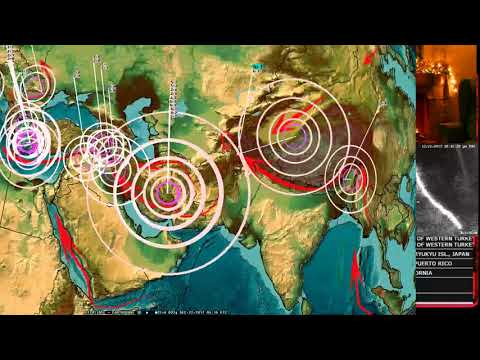 12/21/2017 -- Earthquake Warnings for West Pacific, California, Japan + Europe over Christmas