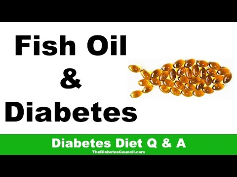 Is Fish Oil Good For Diabetes?