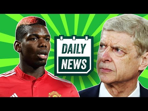 Wenger leaves arsenal reaction! + latest transfer news, inc. pogba, hazard and mahrez ► daily news