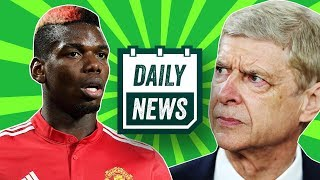 Wenger leaves Arsenal REACTION! + Latest transfer news, inc. Pogba, Hazard and Mahrez ► Daily News