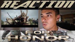 For Honor E3 2016 Cinematic Trailer Reaction
