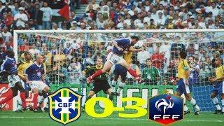 Brasil vs Francia Final del Mundial de
