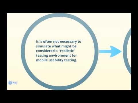 Intro to Mobile Usability Testing