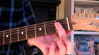 How To Play the Ab6 Chord On Guitar (A flat sixth) 6th