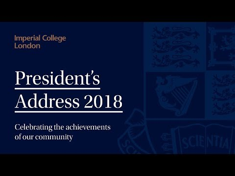 President's Address 2018