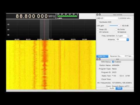 [Es] 88.8 - Radio Annaba - M'cid, Algeria - 1903 km | 02.06.2017