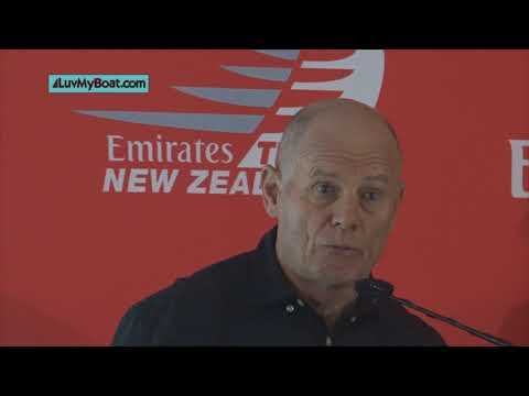 Emirates Team New Zealand Protocol Announcement.