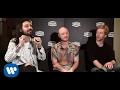 Capture de la vidéo #warnersquad - Biffy Clyro Interviewed By Max Pezzali