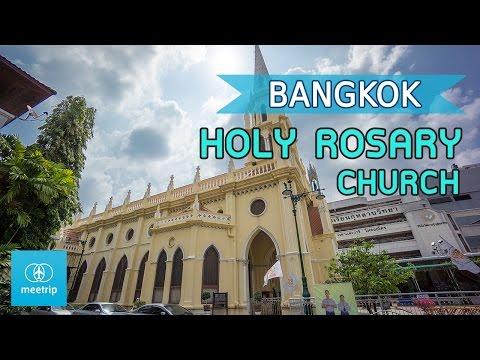 Bangkok Travel Guide - Bangkok Church - Holy Rosary Church (Wat Kalawar)   Meetrip