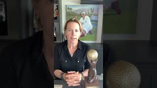 Annika Sörenstam won the Lifetime Achievement Award 2020, awarded by World Golf Awards