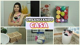 IDEIAS CRIATIVAS PRA ORGANIZAR A CASA GASTANDO POUCO #2 | PALOMA SOARES