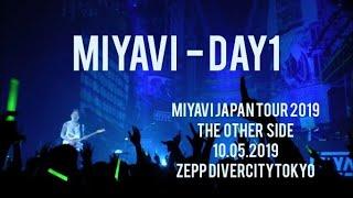 MIYAVI - DAY 1 - JAPAN TOUR 2019 THE OTHER SIDE 10.05.2019