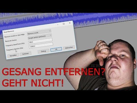 Wie man Gesang aus einem Song entfernt und wieso es nicht funktioniert!