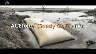 ACETube® Geotextile Tube (Sandy Color) Trial