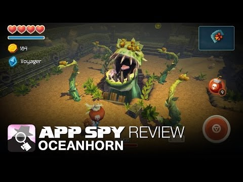 Oceanhorn | iOS iPhone / iPad Gameplay Review - AppSpy.com