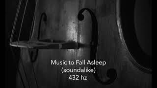 10 hours of Music to Fall Asleep to 432 hz, cello meditation, sleep