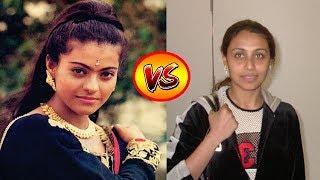Kajol VS Rani Mukerji Transformation From 1 To 40 Years Old